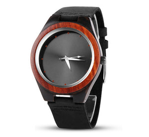 Mens Watches Creative Wood Watch Men Wrist Watch Fashion Wooden Men'S Watch