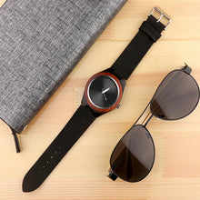 Load image into Gallery viewer, Mens Watches Creative Wood Watch Men Wrist Watch Fashion Wooden Men'S Watch