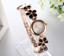 Load image into Gallery viewer, Luxury Crystal Flower Women'S Watch Bracelet Ladies Watch Women'S Watches