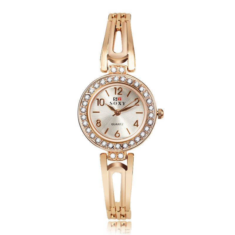 Soxy Bracelet Watch Women Watches Luxury Rhinestone Women'S Watches Wristwatch