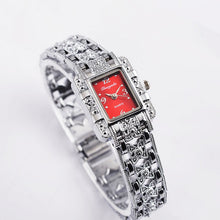 Load image into Gallery viewer, Luxury Silver Bracelet Wrist Watch Fashion Women'S Watches Ladies Watch