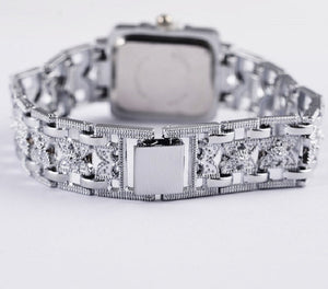 Luxury Silver Bracelet Wrist Watch Fashion Women'S Watches Ladies Watch