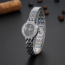 Load image into Gallery viewer, Soxy Silver Bracelet Watch Luxury Rhinestone Women'S Watches Ladies Watch