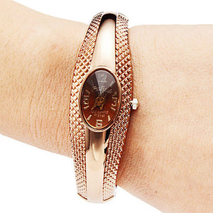 Rose Gold Women'S Watches Bracelet Watch Luxury Ladies Watch