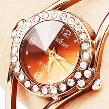 Load image into Gallery viewer, Rose Gold Women'S Watches Bracelet Watch Luxury Ladies Watch