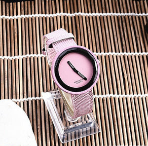 WoMaGe Brand Watch Fashion Women Watches Leather Women'S Watches Wristwatch