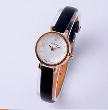 Load image into Gallery viewer, Gogoey Luxury Rhinestone Women'S Watches Leather Small Watch Women Watches