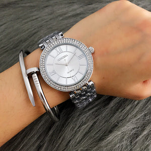 CONTENA Rose Gold Women Watch Rhinestone Women'S Watches Ladies Watch