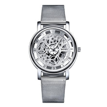 Load image into Gallery viewer, SOXY Wrist Watch Men Mesh Belt Women Unisex Quartz Watches Fashion Designer Hollow Watch relogio feminino montre femme 2019
