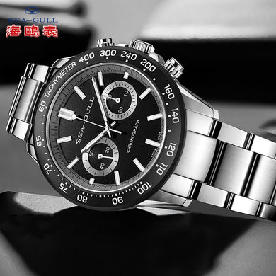 seagull mens Manual watches top brand luxury 44mm automatic watch mens luxury men fashions whatches Business watch816.22.6088