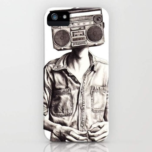 Radio-Head Mobile Cover