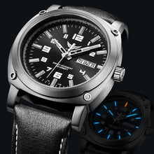 Load image into Gallery viewer, tritium watch men,mens military titanium automatic watches Yelang sport luxury waterproof mechanical wristwatch montre man V3.4