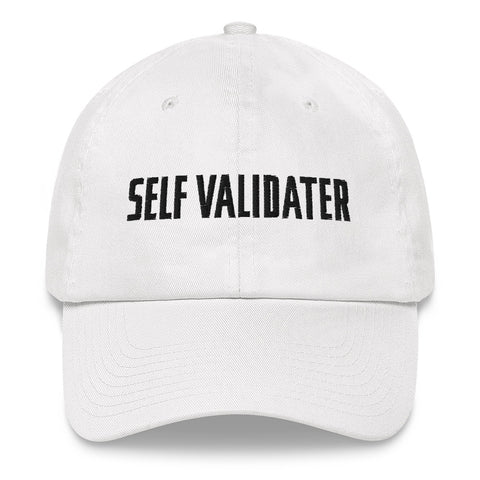 Self Validater Cap (White)