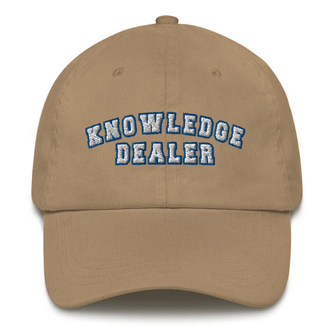 Knowledge Dealer Cap