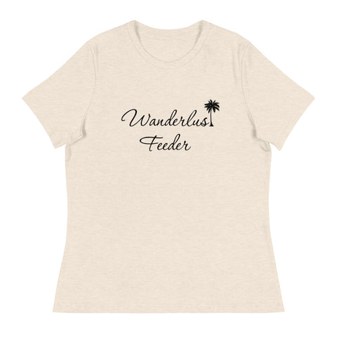 Wanderlust Feeder Womens Relaxed Tee