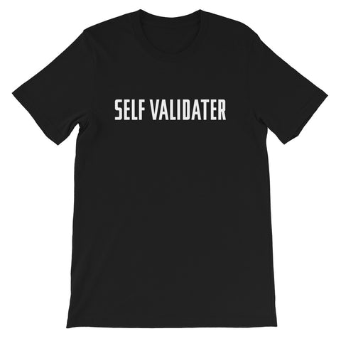 Self Validater Comfort Tee (Black)