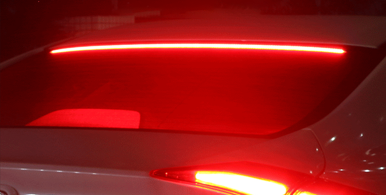 How To Install A Led Third Brake Light Strip Aoonuauto