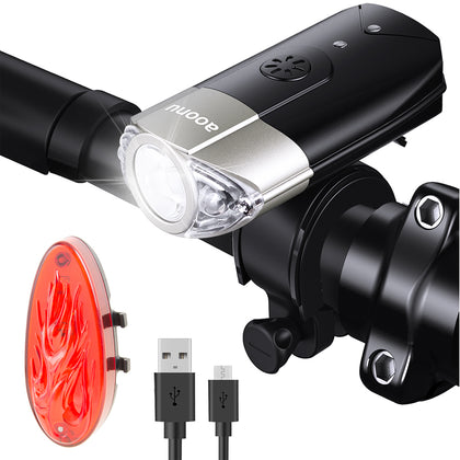 Bicycle LED Headlight And Taillight