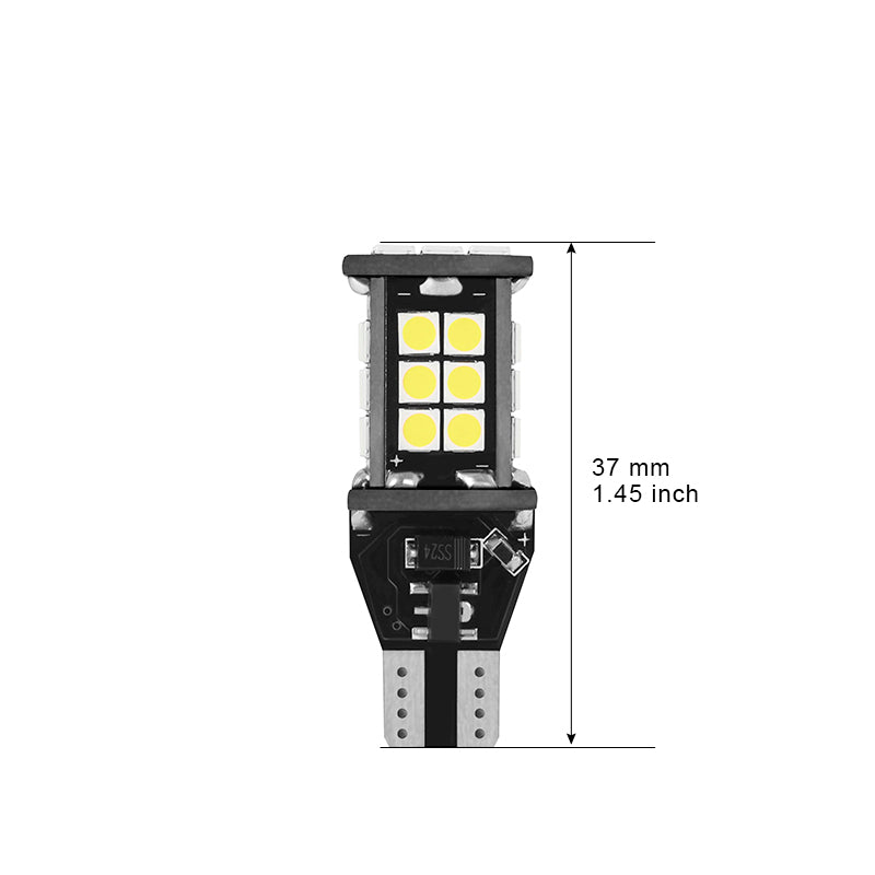 T15 Plug 3030 24SMD Car LED Light Bulb