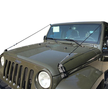 Limb Risers Branch Deflectors Bush Cables For Jeep Wrangle JK 2007-2017