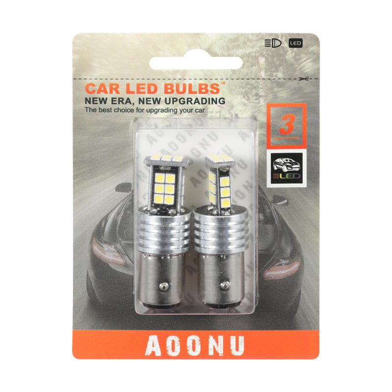 1157 Plug 3030 24SMD Car LED Light Bulb