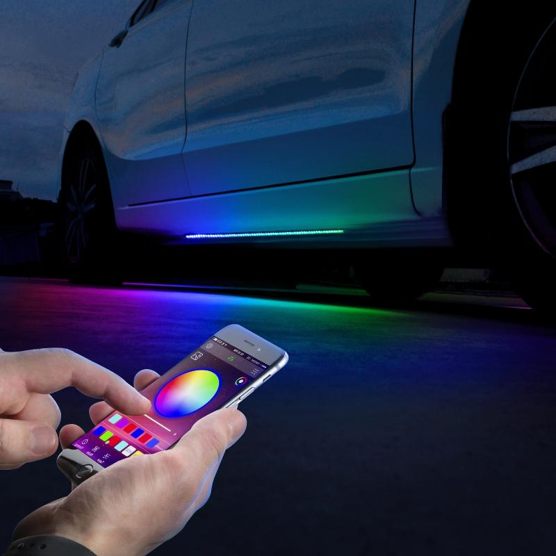 APP Remote Control Colorful LED Underbody Lights