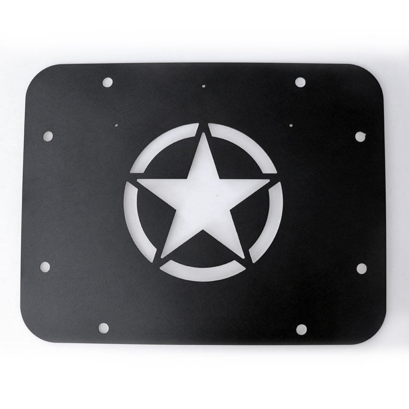 Tailgate Vent Plate For Jeep Wrangler JK