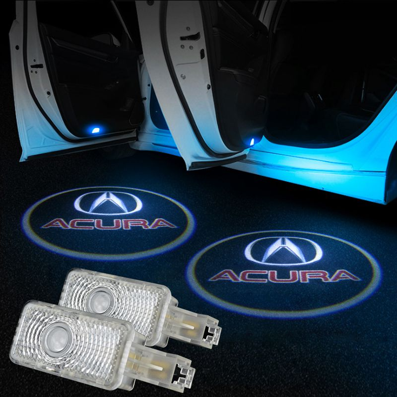 LED Door Logo Projector Light For Acura Pair