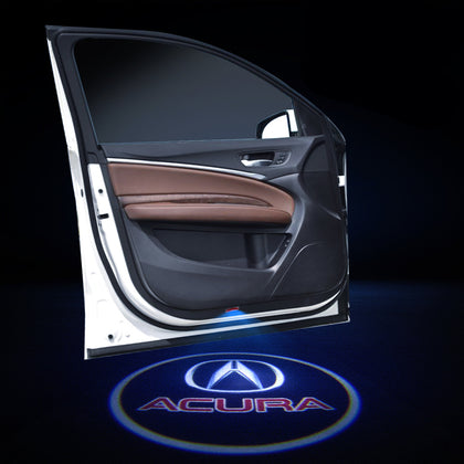 Acura Car Door LOGO Projector | Door Courtesy LED Projector Ghost Shadow Light - Car Lighting Decoration Modify