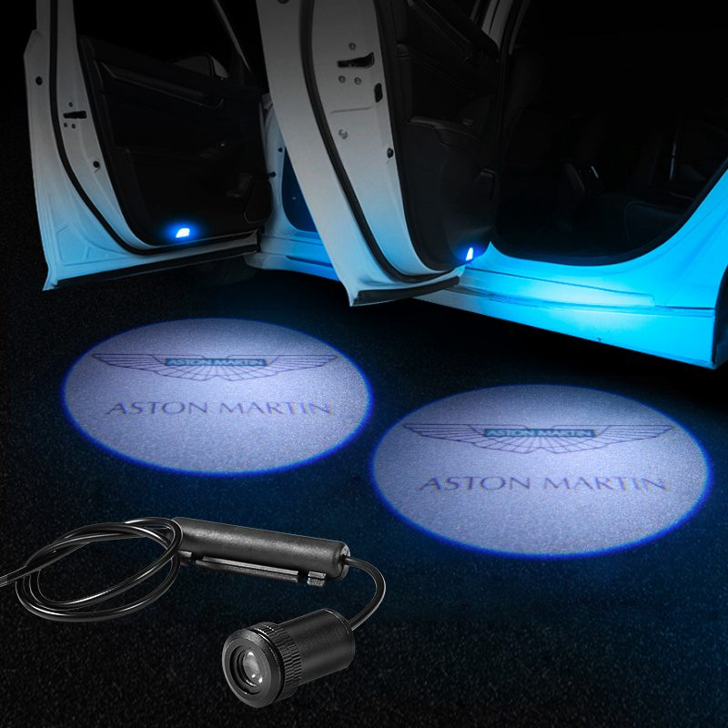 Aston Martin Car LED Door Projector Light | Door LOGO Welcome Lights - Lighting Decoration Upgrade