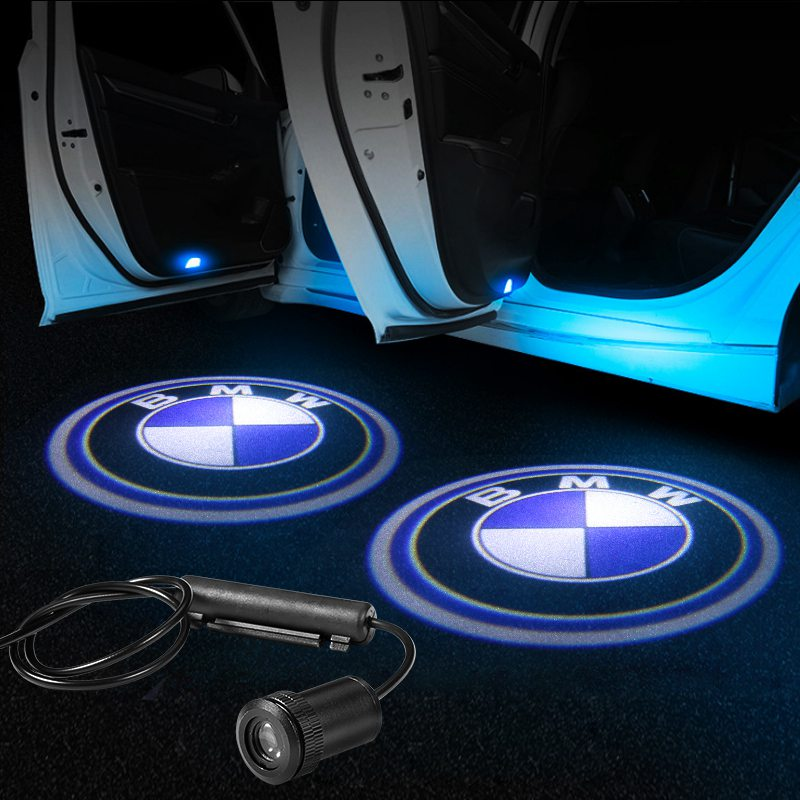 BMW Car Door LOGO Lights | Ghost Shadow LED Welcome Laser Projector - Car Accessories