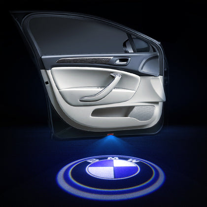 BMW Compatible Car Door LOGO Lights | Ghost Shadow LED Welcome Laser Projector - Car Accessories