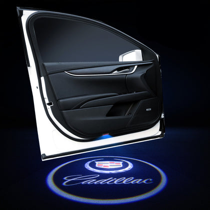 Cadillac Car LOGO Door Lights | Welcome LED Laser Projector - Car Atmosphere Light Upgrade