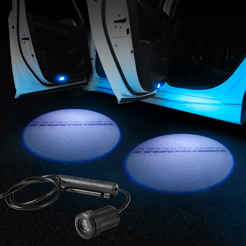 HUMMER Car Door LED LOGO Projector Light | Glowing Emblem - Car Light Upgrade
