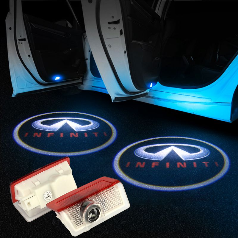 Infiniti Car Door LOGO Lights | Ghost Shadow LED Welcome Laser Projector - Car Accessories