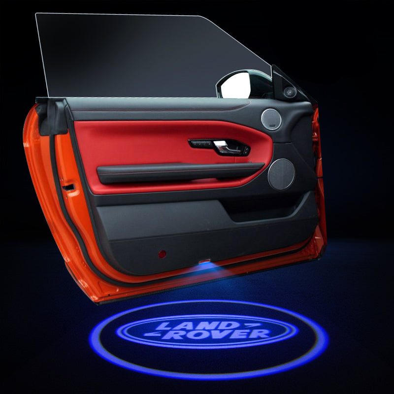 Land Rover Car Door LOGO Lights | Ghost Shadow LED Welcome Laser Projector - Car Accessories