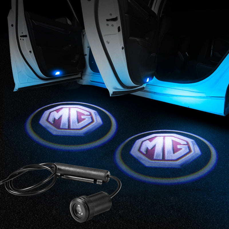 Mg Car Door Projector Lights | LED Welcome Laser Door LOGO Light - Car Light Accessories
