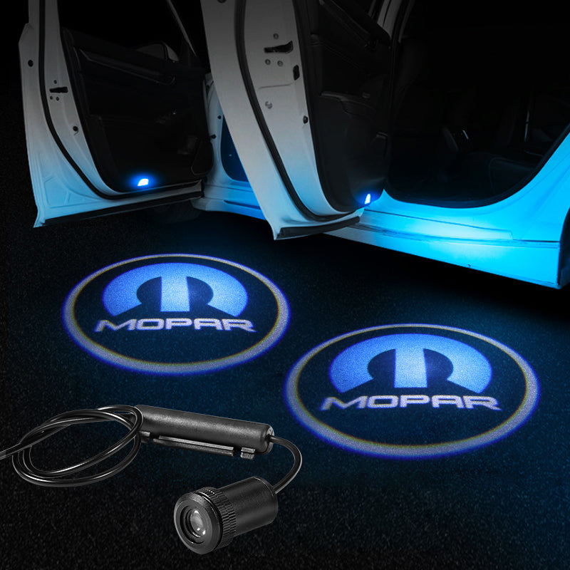Chrysler Car Door LED LOGO Projector Light | Glowing Emblem - Car Light Upgrade