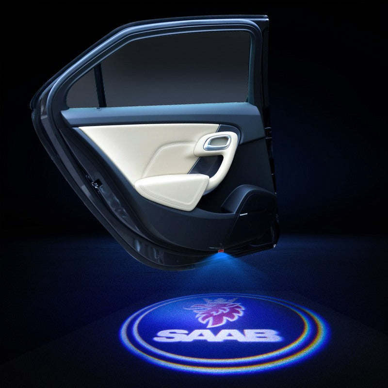 SAAB Car LED Door Projector Light | Door LOGO Welcome Lights - Lighting Decoration Upgrade