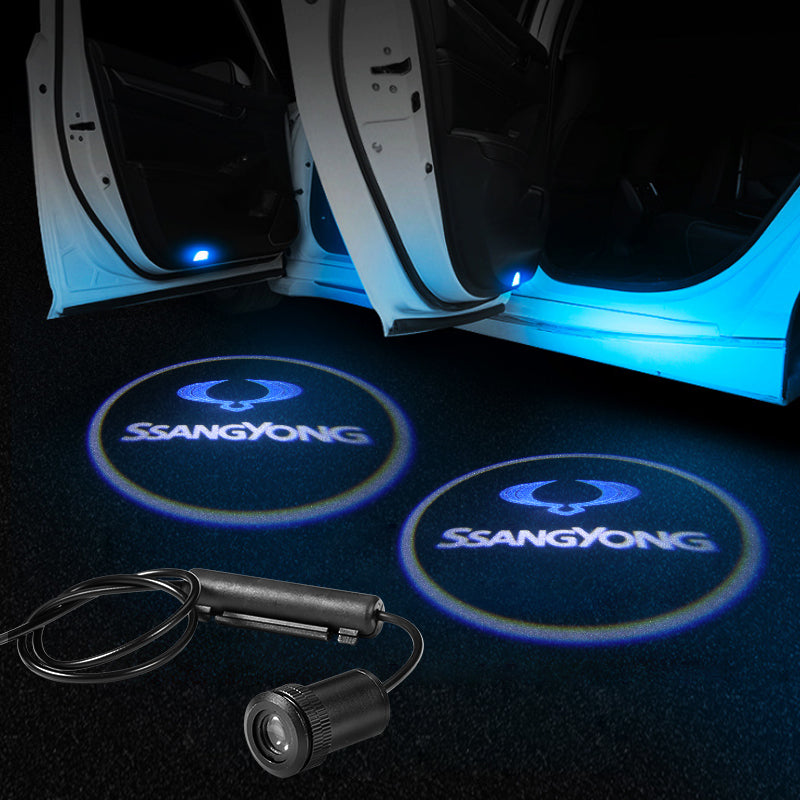 Ssangyong Door Logo Projector Light