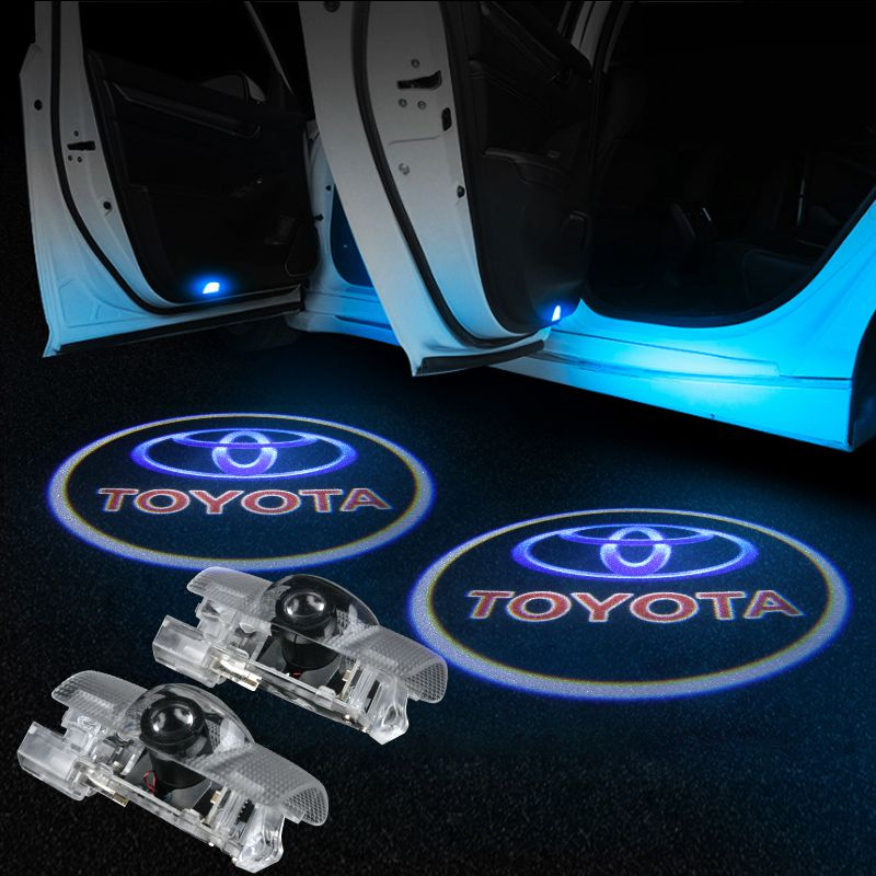 Toyota Car LED Door Projector Light | Door LOGO Welcome Lights - Lighting Decoration Upgrade