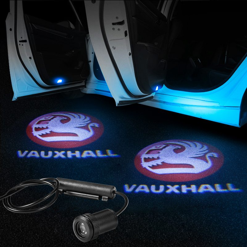 Vauxhall Car LED Door LOGO Projector | Ghost Shadow Lights - Lighting Decoration Modify