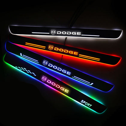 Dodge Customizer LED Door Sill Entry Guards Light