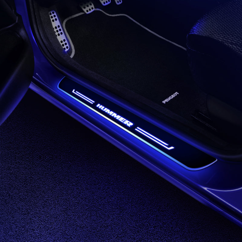 HUMMER Customizer LED Door Sill Entry Guards Light