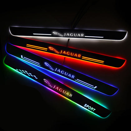 Jaguar Upgrade Led Door Side Sill Step | Door Sills Plate - Car Accessories