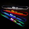 Lada Enhanced Car Door Sill Protector | Led Door Sills | Welcome Pedal - Car Lighting Accessories