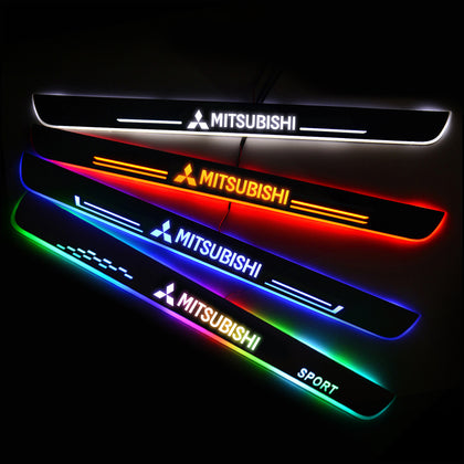 Mitsubishi Upgrade Led Door Side Sill Step | Door Sills Plate - Car Accessories