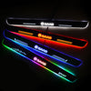 SAAB Customizer LED Door Sill Entry Guards Light