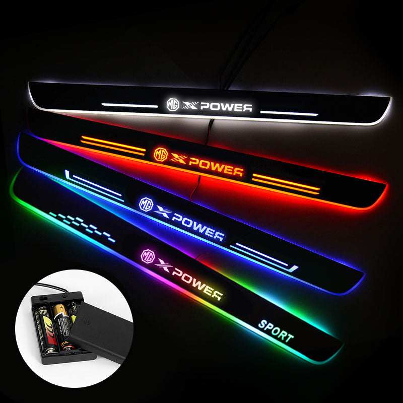 Mg Customizer LED Door Sill Powered By AA