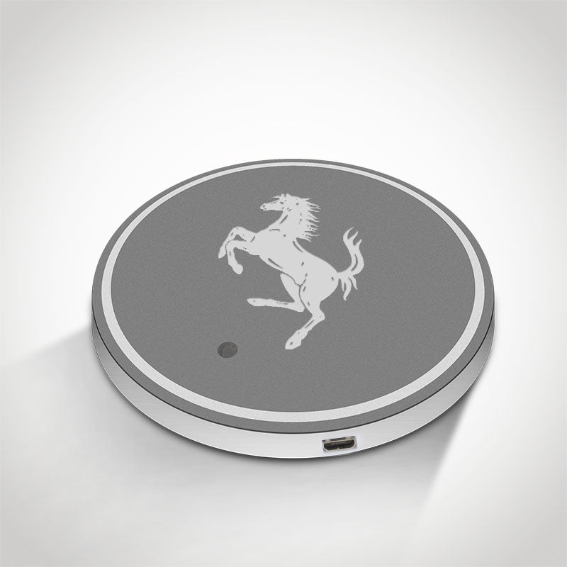 Ferrari LED Car Logo Coaster 2pcs